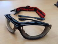 SP1000, Safety Glasses Black/Clear