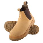 HOBART SAFETY BOOT WHEAT SIZE 7