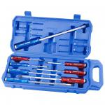 SCREWDRIVER SET THRU TANG 8PC