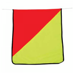 CANVAS OVERSIZE FLAGS PAIR OF 2