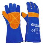 WELDERS GLOVES KEVLAR STITCH BLUE