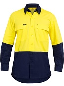 BS6415 HIVIS X AIRFLOW RIPSTOP SHIRT