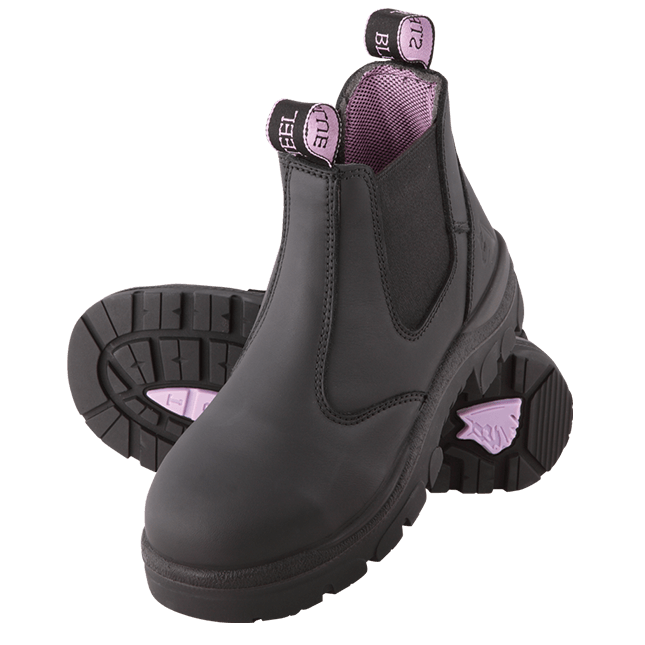 HOBART SAFETY BOOT LADIES SIZE SIZE 5